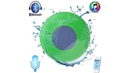 Altavoz waterproof para la ducha con radio y bluetooth