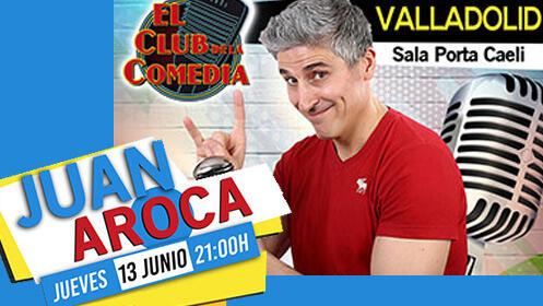 Juan Aroca con su monólogo 'Fiestas Populares'