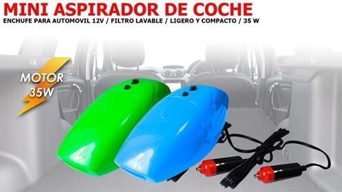 Mini aspirador de coche ¡2 unidades disponibles con recogida inmediata!
