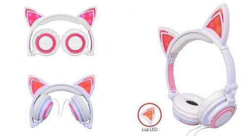¡NUEVO! Auriculares estilo gato