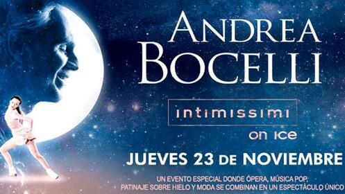 Andrea Bocelli: Intimissimi on Ice en los Cines Broadway