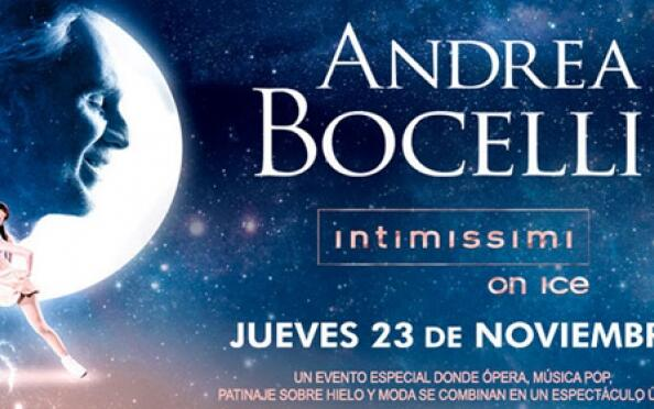 Andrea Bocelli: Intimissimi on Ice en los Cines Broadway