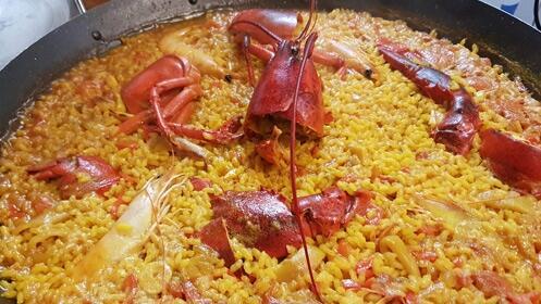 Nuevo menú de arroz con bogavante para dos en el centro