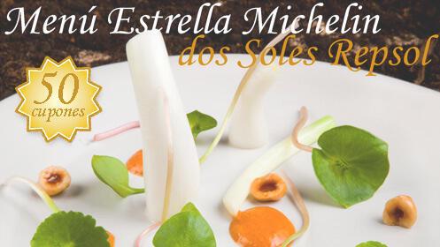 Menú Estrella Michelin ★ y dos Soles Repsol ✸✸