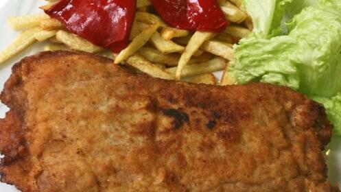 Menú asturiano para dos con sabroso cachopo y sidra