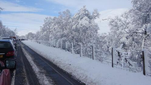 Oferta en cadenas textiles para nieve y hielo