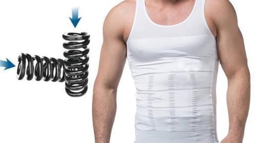 Camiseta reductora masculina Fit