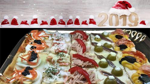Comparte la Navidad con esta bandeja de canapés gourmet