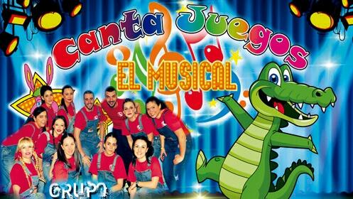 Espectáculo Canta Juegos en el Auditorio de la Feria de Muestras