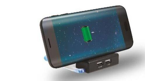 Base cargador inalámbrico para móvil