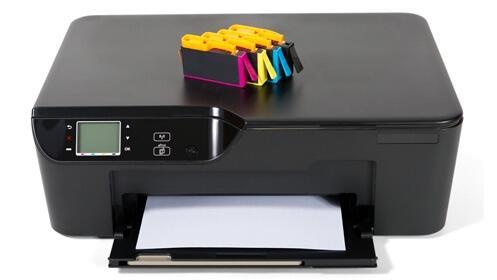 5 cartuchos de tinta para impresora