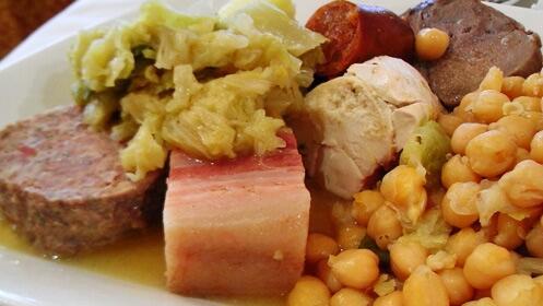 Gran cocido castellano para 2 personas