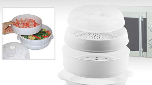 Cocina al vapor para microondas MicroVap