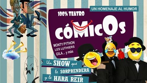 'Cómicos' Un homenaje al humor en el Teatro Cervantes
