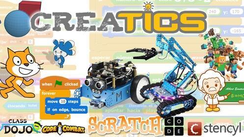 Programa tu propio videojuego con este taller Creatics para niños