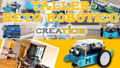 Taller 'Reto robótico Creatics' para jóvenes