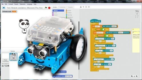 Programa un robot para resolver grandes retos, taller para niños