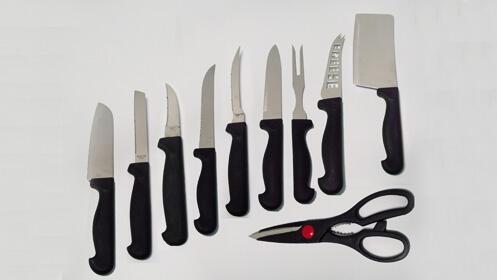 Set de cuchillos de Acero Inoxidable