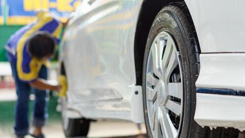 Lavado de coche a mano en DetailCar