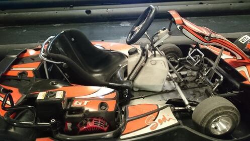 Cambio de aceite mientras disfrutas del karting