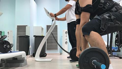 Ponte en forma en 25 minutos, dos sesiones de electrofitness