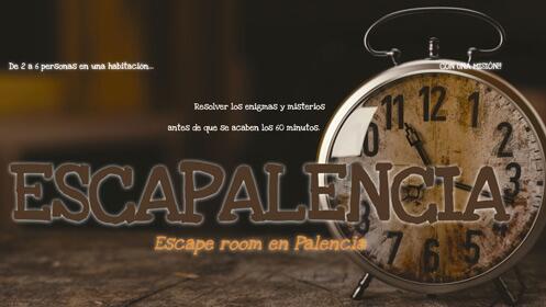 ¡Escape Room en Palencia! 2-6 jugadores