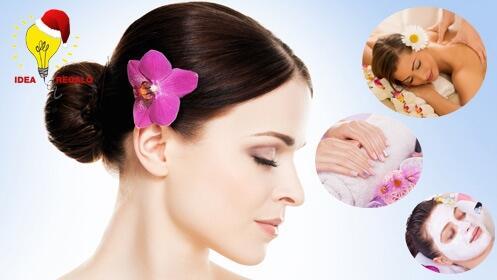 Facial con vacumterapia, masaje y opción de manicura