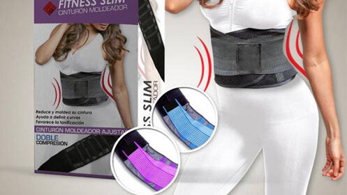 Faja cinturón moldeador Fitness Slim Power Belt