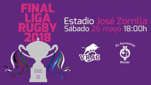 Entrada para la final de la Liga de Rugby 2018
