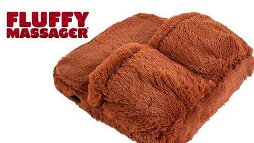Masajeador y calentador de pies Fluffy