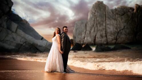 Sesión de fotografía profesional para el día de tu boda