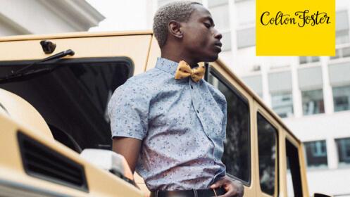 Pajaritas de moda Colton Foster