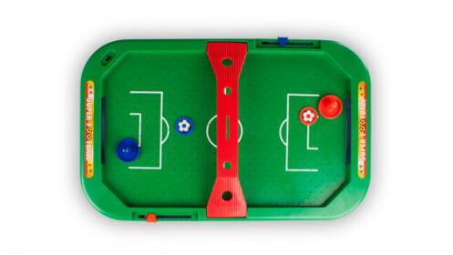 Juego de fútbol eléctrico