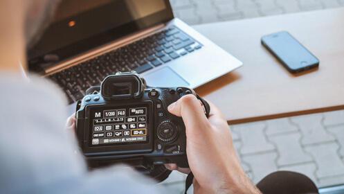 Curso intensivo de fotografía, 4 horas presenciales
