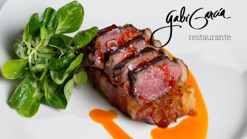 Cocina de autor en exclusiva, Gabi García para Mesa Degusta