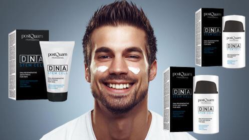 Cuidado facial premium para hombres, DNA Stem Cell
