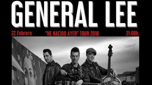 General Lee 'He nacido ayer' tour 2018 en el Teatro Cervantes