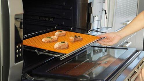 Pack de 4 bandejas de silicona Oven Tasty