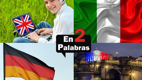 Dos meses presenciales: inglés, francés, alemán o italiano