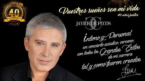 Javier de Pecos, Vuestros Sueños Son Mi Vida en el Teatro Carrión