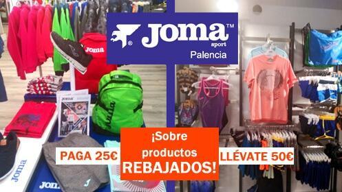 Vale de 50€ para la tienda Joma ¡ahorra la mitad y en rebajas!