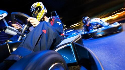 ¿Te apuntas a vivir una emocionante tanda de karting?