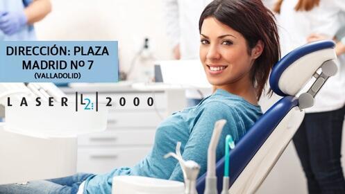 Limpieza dental en Láser 2000 en la Plaza Madrid