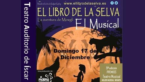 Musical 'El libro de la Selva' en Íscar