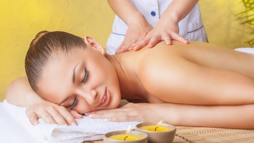 Fantástico masaje relajante completo