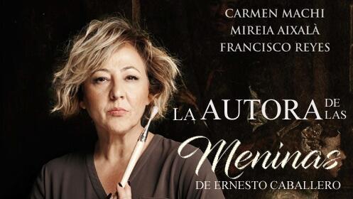 La autora de las Meninas en el Teatro Carrión