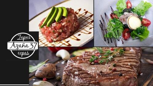 Nuevo menú gourmet para dos ¡marinero o carnívoro!
