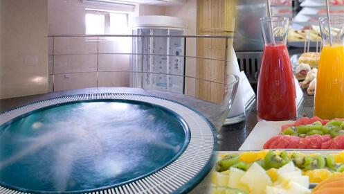 Spa privado con brunch para dos en el gran NH Bálago
