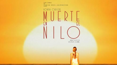 Muerte en el Nilo de Agatha Christie en el Teatro Ortega