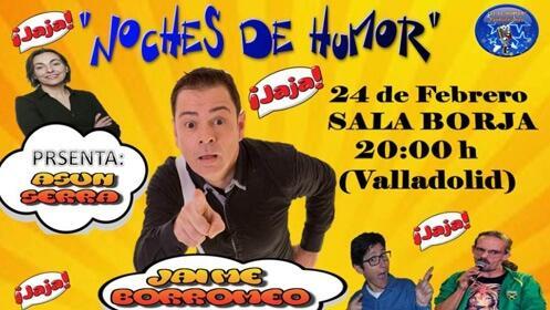 'Noches de Humor con Jaime Borromeo' en la Sala Borja